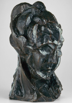 Pablo Picasso Head of a Woman (Fernande), autumn 1909 Bronze Alfred Stieglitz Collection, 1949.584 Courtesy Art Institute of Chicago © 2013 Estate of Pablo Picasso / Artists Rights Society (ARS), New York